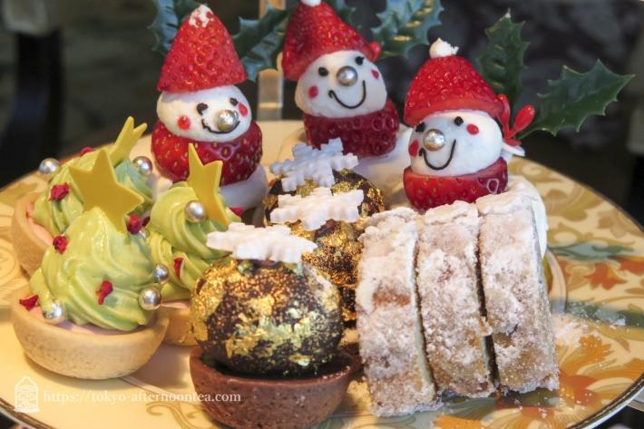 [シャングリラホテル]クリスマスアフタヌーンティー